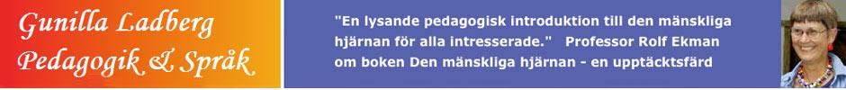 Gunilla Ladberg – Pedagogik och språk
